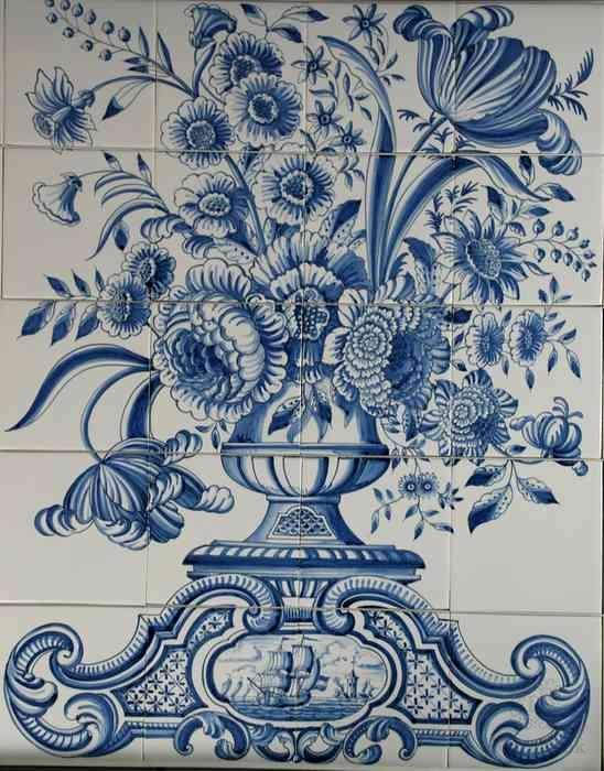 RF20-5, vase with landscape