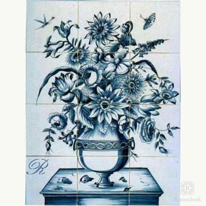 RF12-15 vase with flowers
