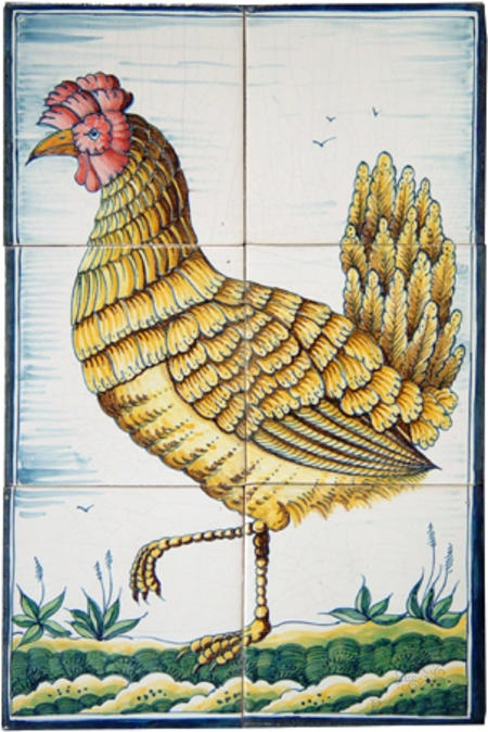 RH6-22, Classic rooster and Hen