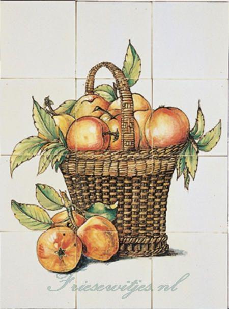 RH12-10 basket with apple
