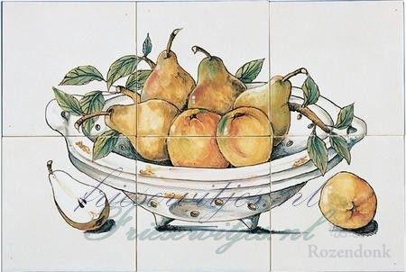 RH6-4 Bowl with fruit