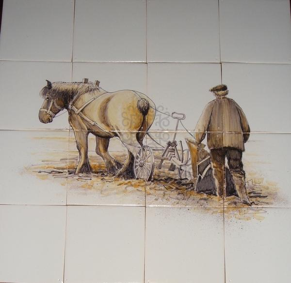 RH4-22 Farmer with plough