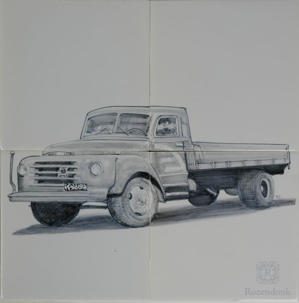 Truck as a gift for a special occasion