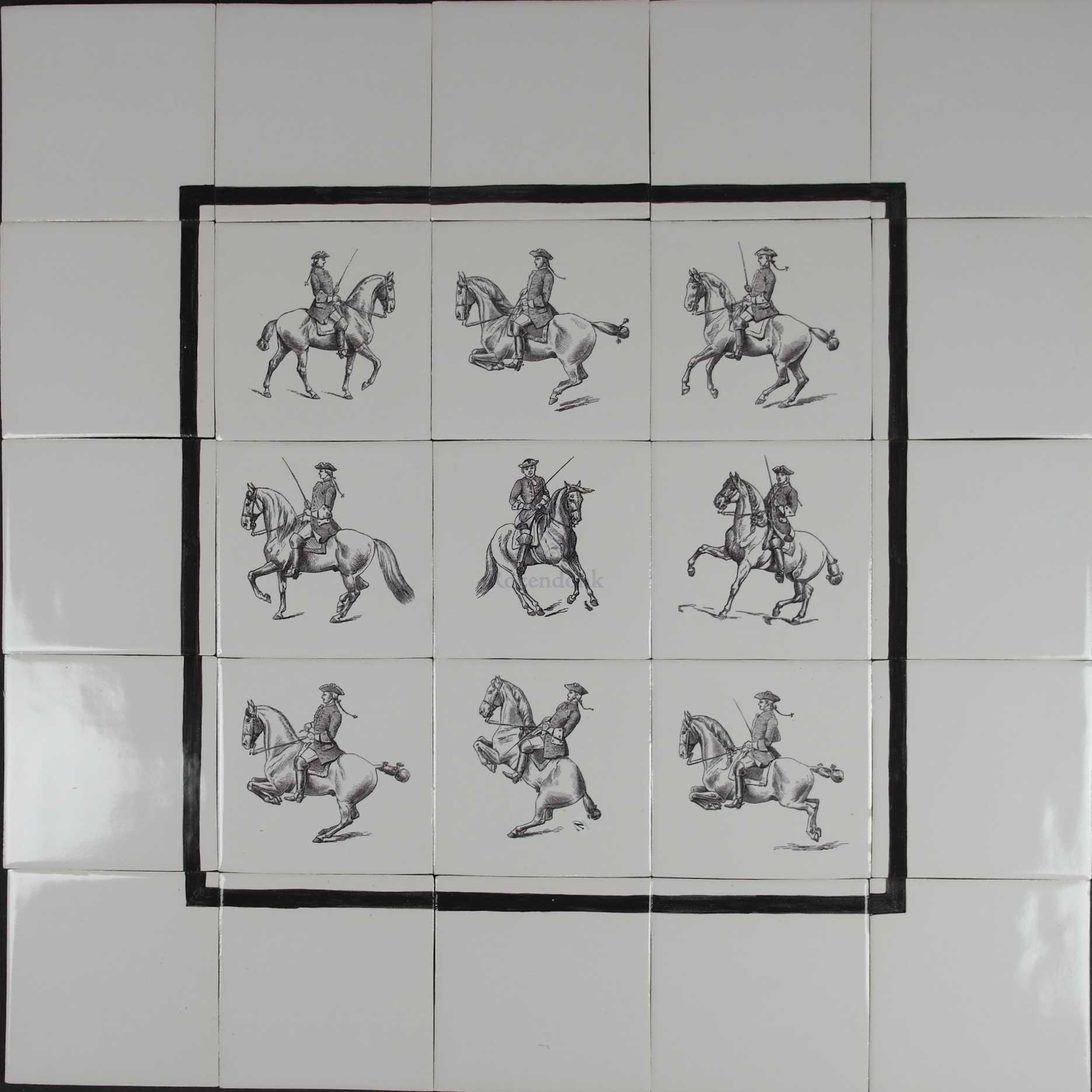 Prints of riding school