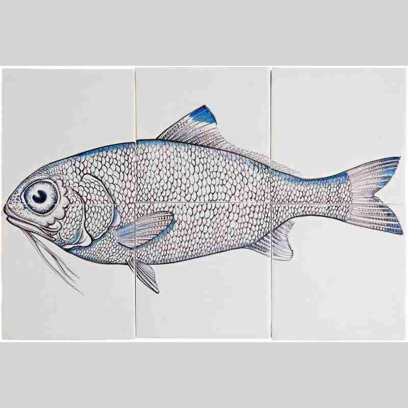 RH6- Fisk5 on 6 tiles