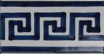 RE0-1 Meander border tile
