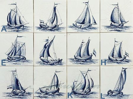 RF1-24 old sailing boats