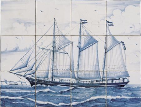 Sailing ship Hannah Jensen