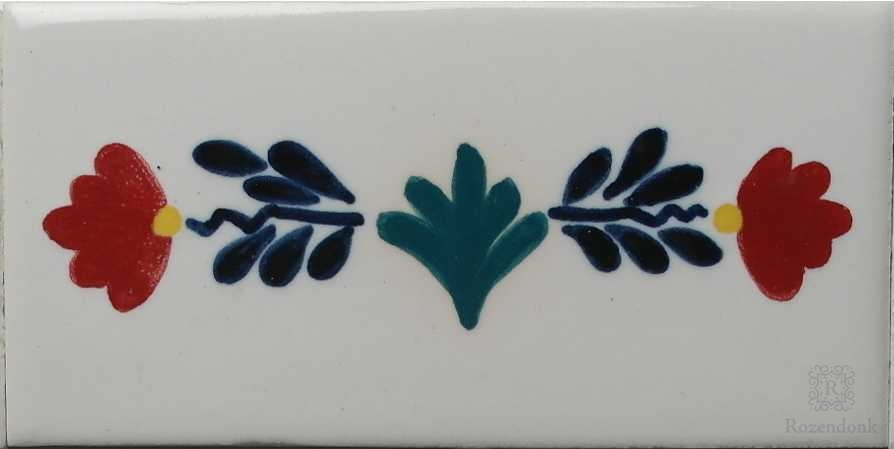 RF0-R1, Border tile with old motif