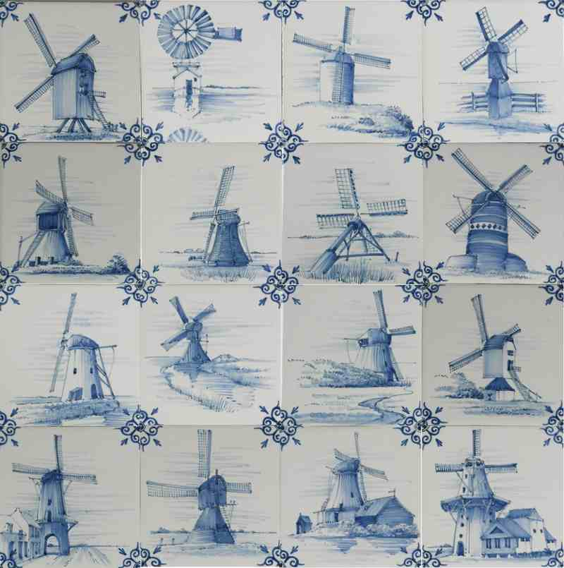 RH1-30b Dutch windmills