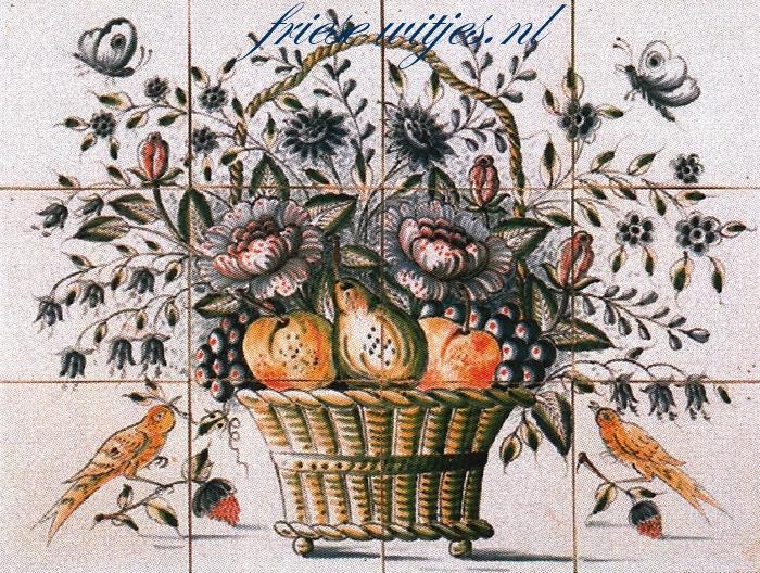 RH12-3k basket with flowers