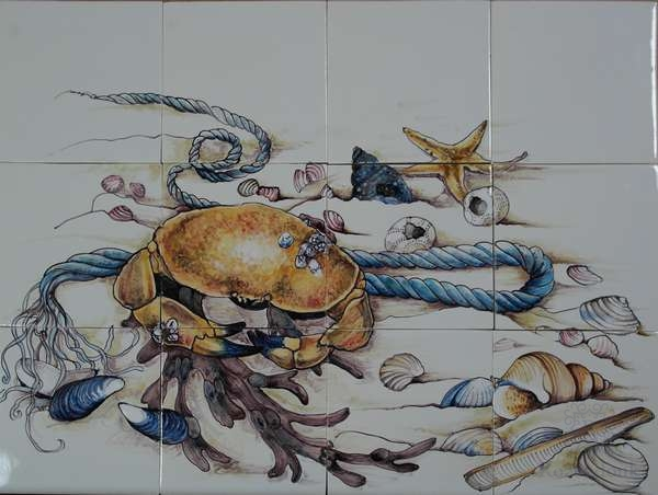 RH12-50 Crab with shells