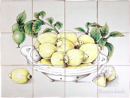 RH12-7, bowl with lemon
