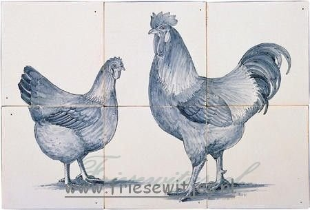RH6-10k Hen and rooster