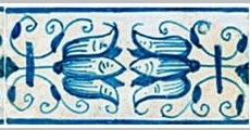 RM0-8 Border tile with tulips