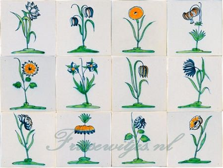 RM1-7 Collaert flowers