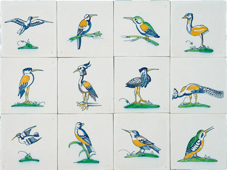 RM1-8 Collaert birds from around 1635
