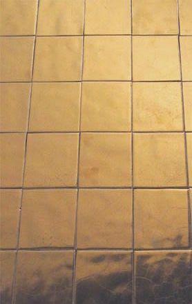 Tiles in Bronze