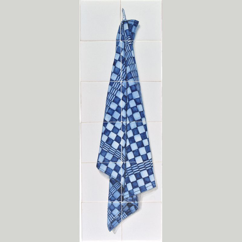 RH12-60 Blue tea cloth