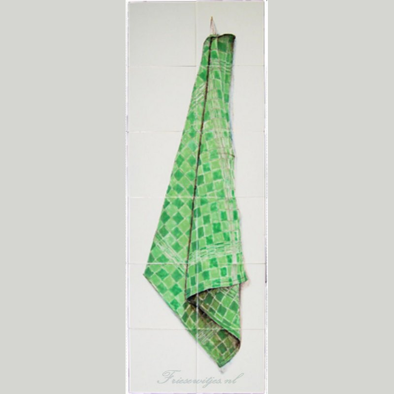 RH12-61 Green tea cloth