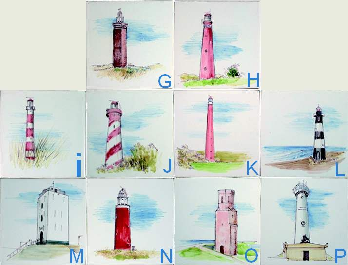 RH1-32 Dutch lighthouses