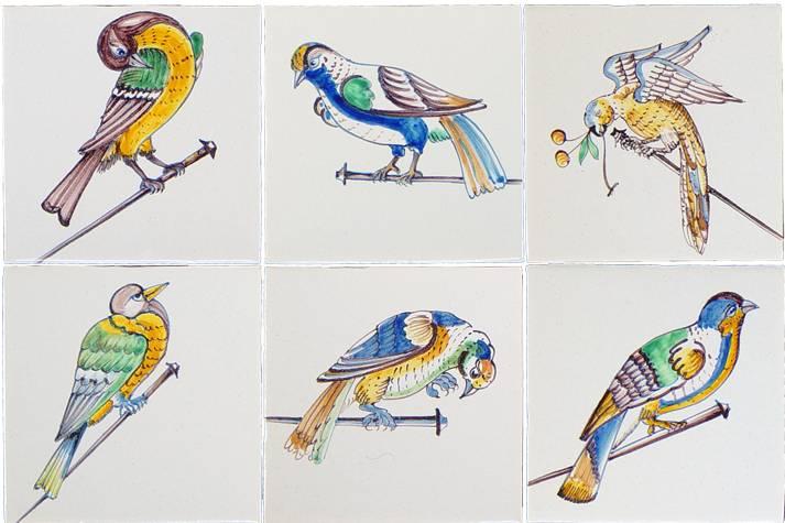 Nail birds
