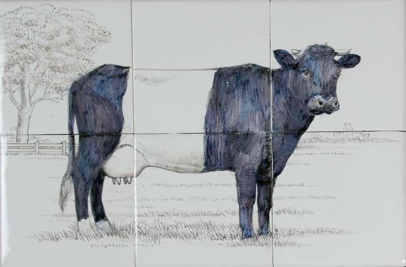"RH6-25, Cow called ""Lakenvelder"""