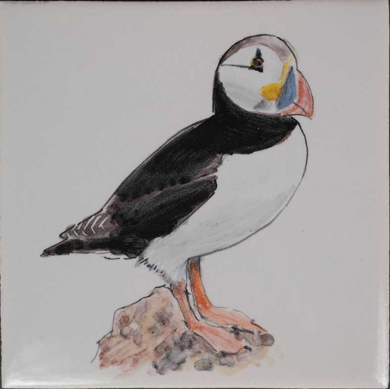 Birds painted on demand
