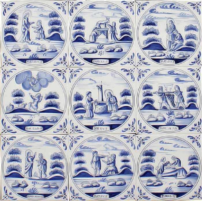 RF1-30a, Biblical tiles
