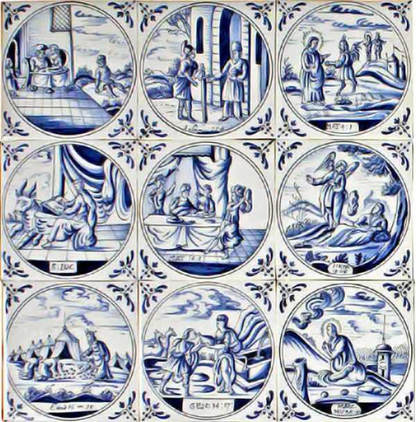 RF1-30b, Biblical tiles