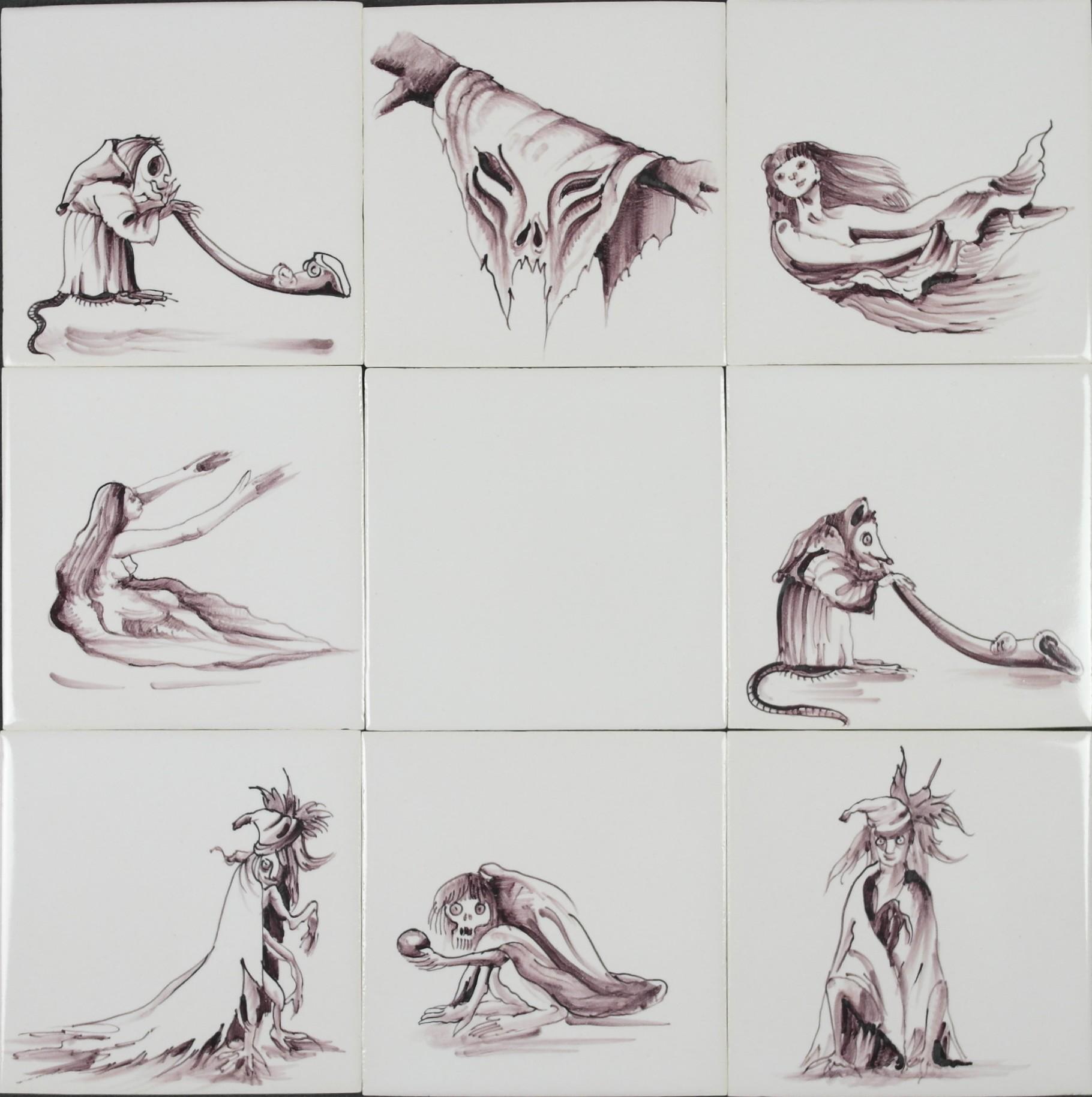RH1-50 Horror creatures