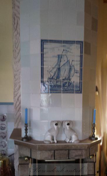 Ship at the chimney