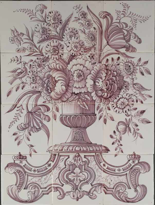RF12-6 Vase with flowers