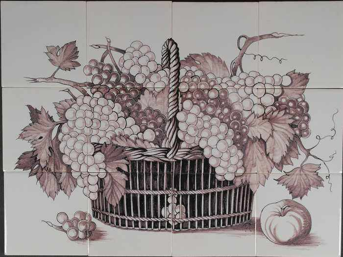RH12-15m, Basket with grapes