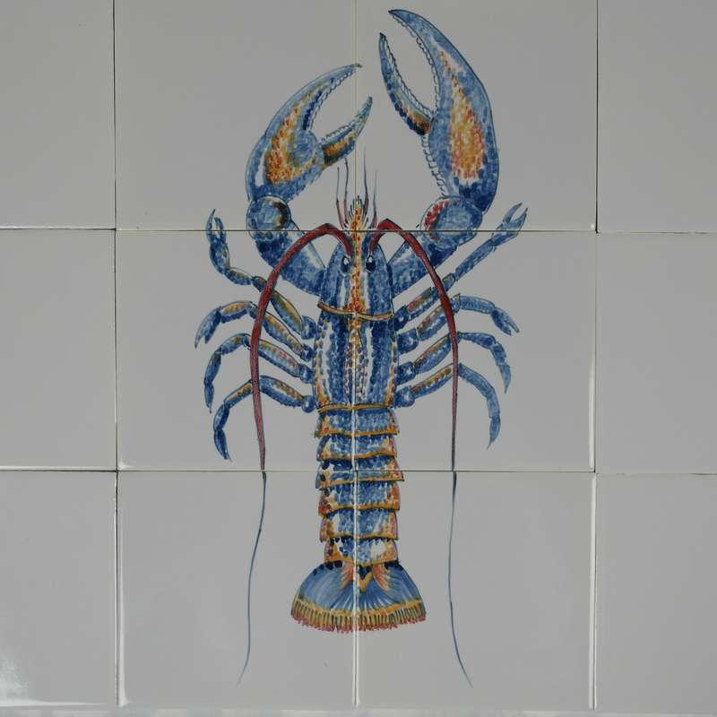 RH6-6, Lobster on 6 tiles