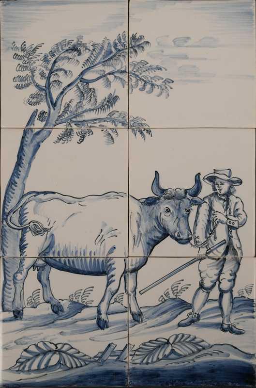 RH6-10, Farmer with cow