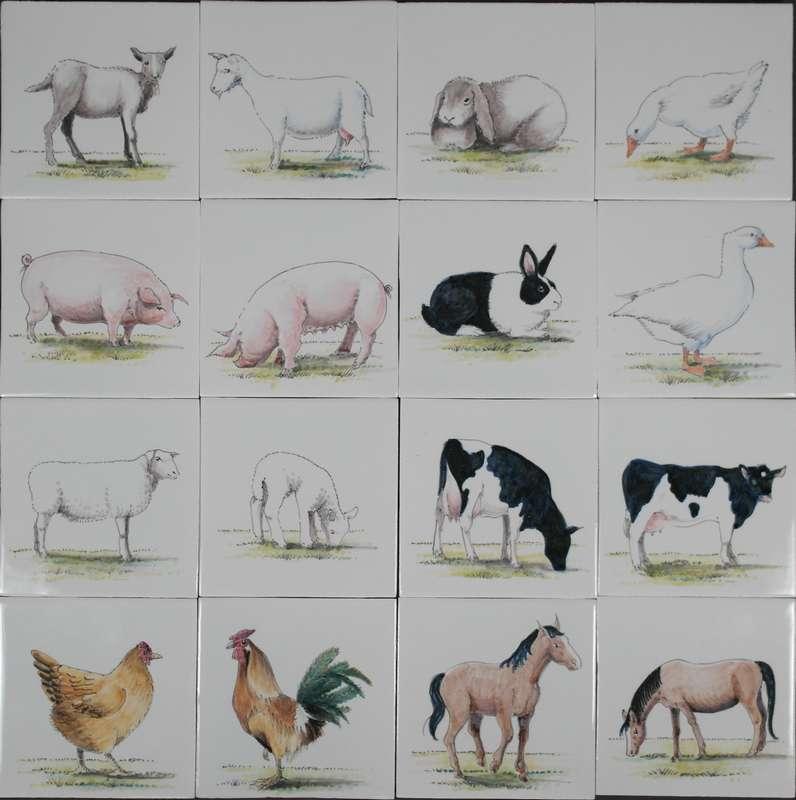 RH1-5, Farm animals