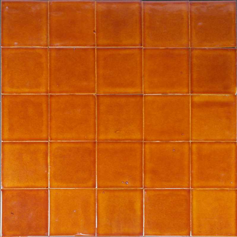 Toffee coloured tiles