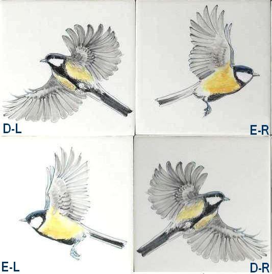 RH1-38V Flying garden birds