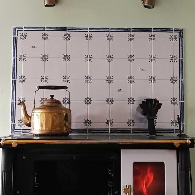 RF-Ox-head with border tile
