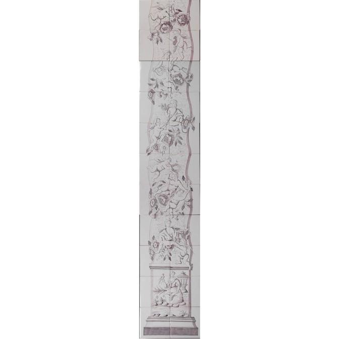 Pilaster in manganese