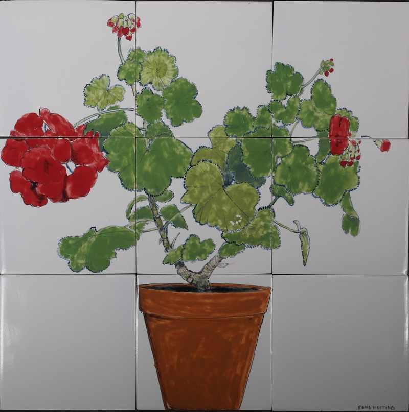 RH9-1, Potted geranium