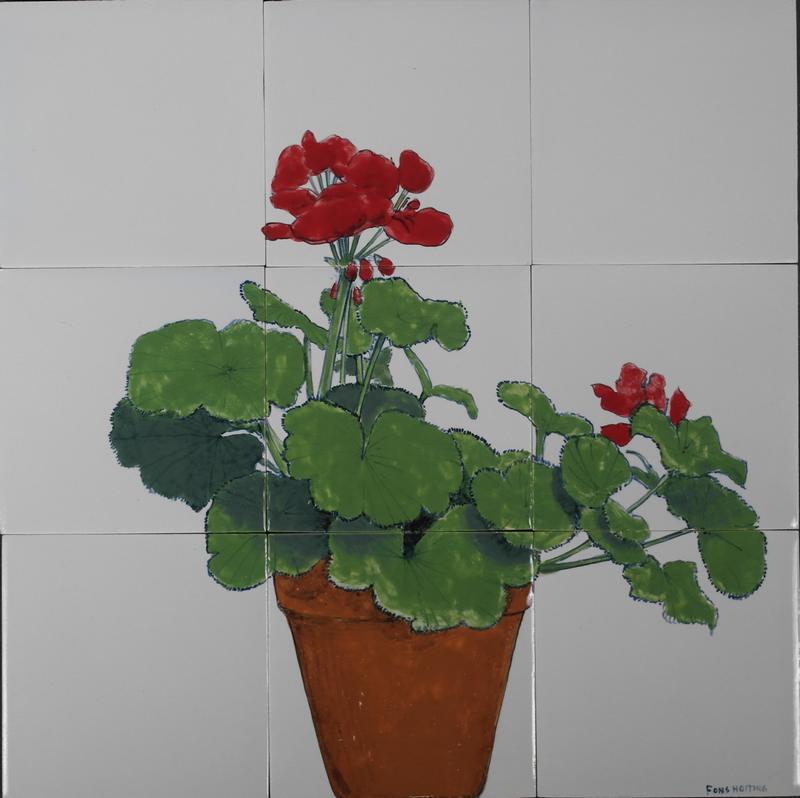 RH9-3, Potted geranium