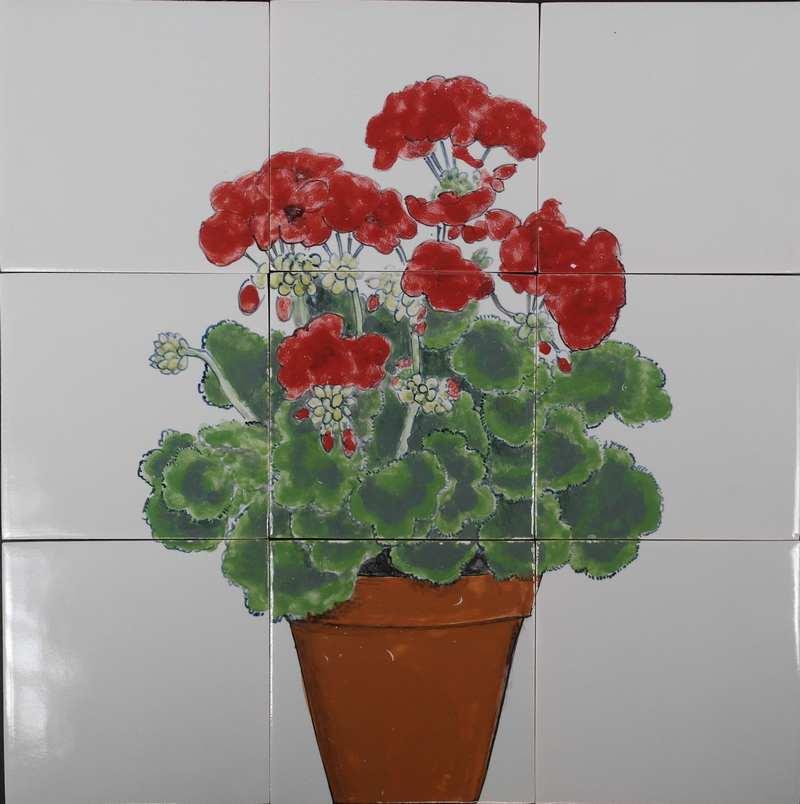 RH9-2, Potted geranium