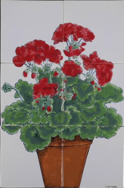 RH6-2, Potted geranium